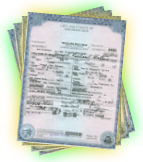 Birth Certificate, also known as a birth record